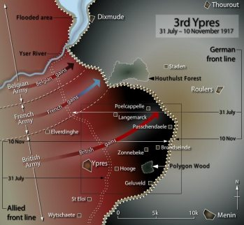 3rd ypres map