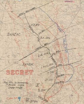 Battle_of_Broodseinde_-_rough_attack_planning_map