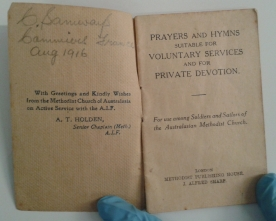 Prayer & hymn book