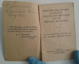 Prayer & hymn book