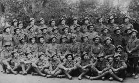Watt A E Platoon, 22nd Batt