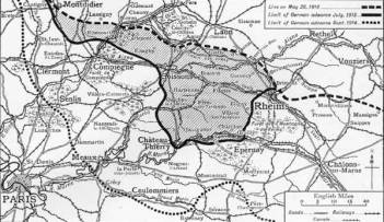 Aisne 1918 map