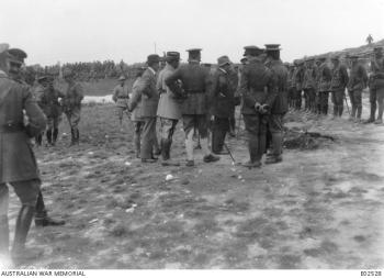 Clemenceau Hamel 1918