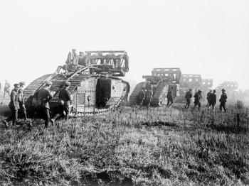 Amiens MkV tank