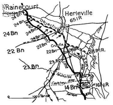 Herleville 18th Aug 1918