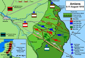 Map Amiens