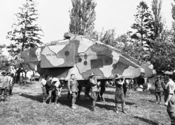 Dummy Tank - E04934
