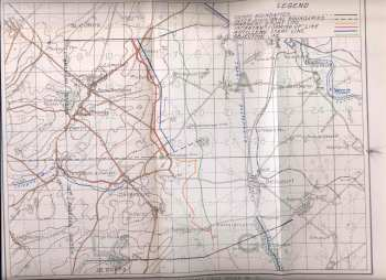 Hindenburg Outpost Line map