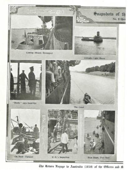 Return Voyage HMAT Sardinia 1