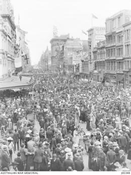 Armistice Day Melbourne J00348