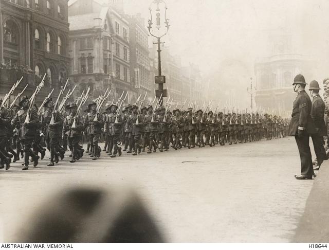 Anzac Day 1919 - London 3