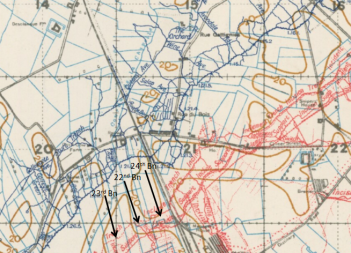 Bois Grenier trench map 2