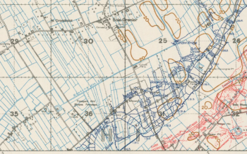Bois Grenier trench map 3