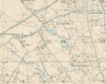 Broodseinde map