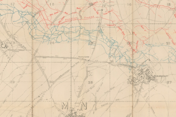 Flers trench map 2