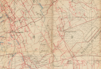 Westhoek Ridge map