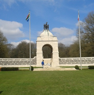 Delville Wood South African Memorial