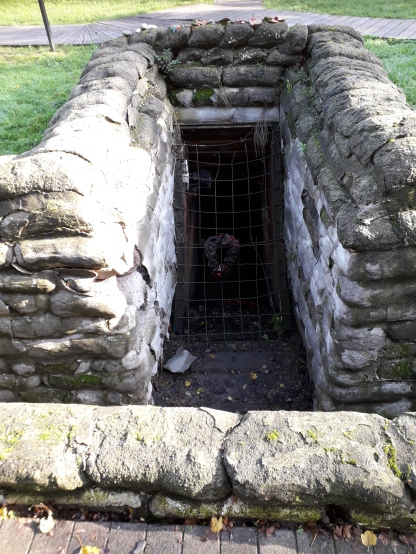 Yorkshire Trench deep dugout