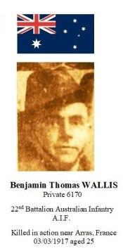 6170 Pte Wallis