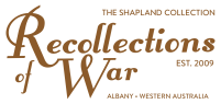 Recollections of War