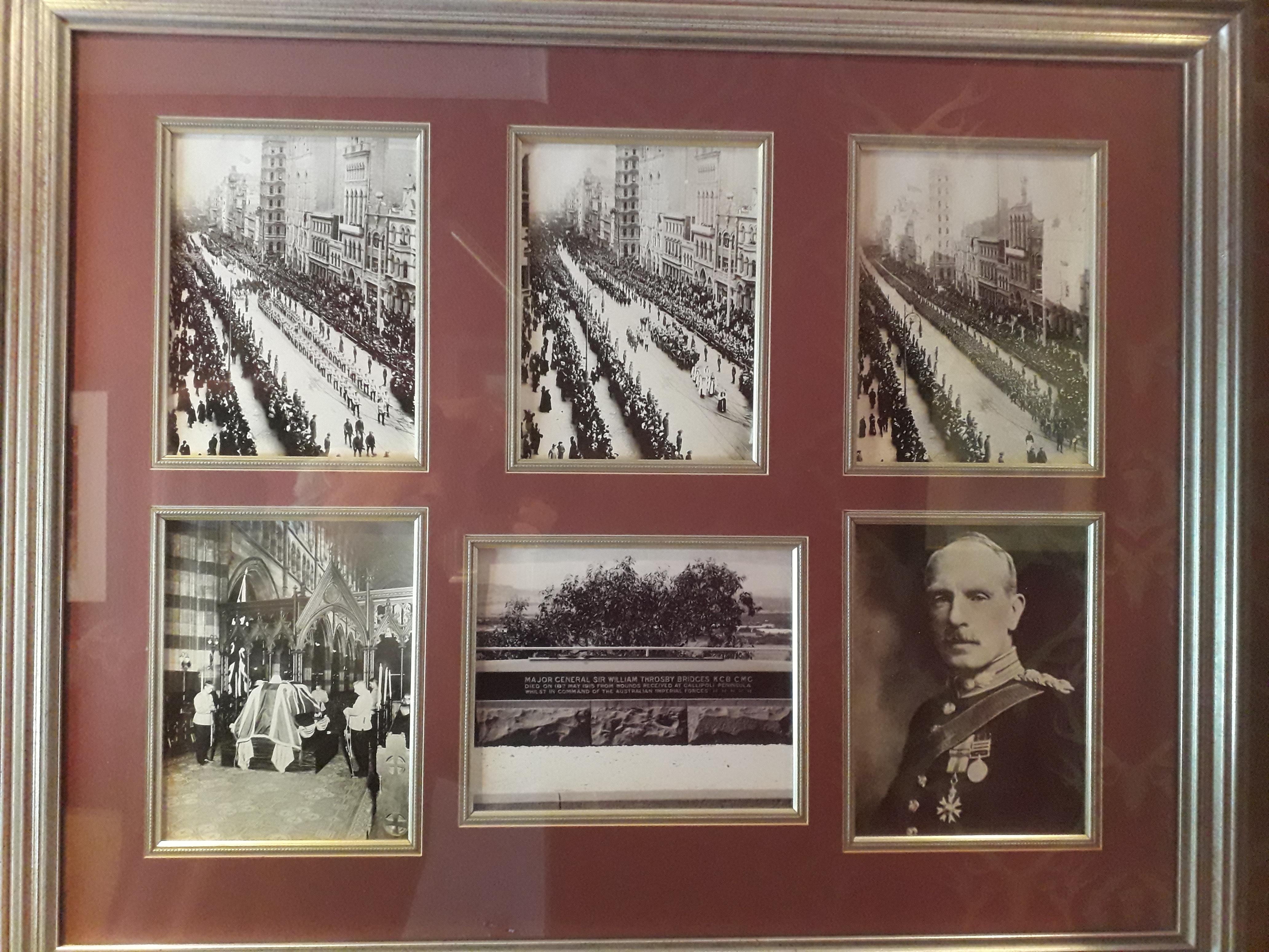 Maj-Gen Bridges funeral